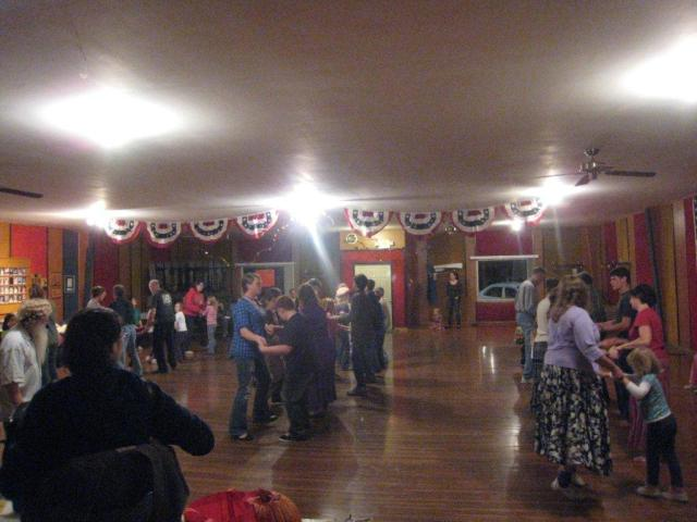 Community dancing at its finest in Ashland, MO
