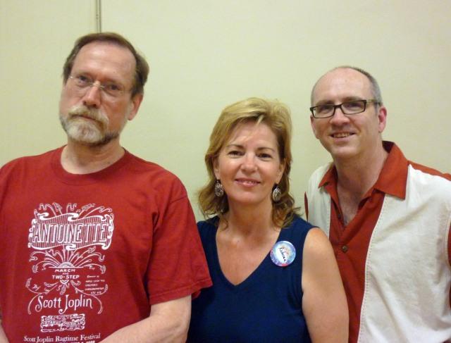Tom, Rebecca, and Thom