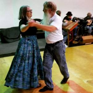 Marcie and Jim waltzing